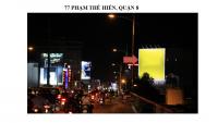 Pano quảng cáo tại 77 Phạm Thế Hiển, Quận 8, TPHCM