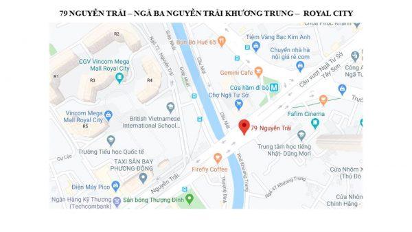 Pano quảng cáo ngoài trời tại 79 Nguyễn Trãi, Thanh Xuân, Hà Nôi