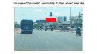 Pano quảng cáo tại 799 Kinh Dương Vương, An Lạc, Bình Tân, TPHCM