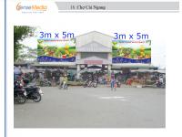 Biển quảng cáo Chợ Cái Ngang, Vĩnh Long