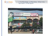 Biển quảng cáo tại Chợ Đồng Quang, TP.Thái Nguyên