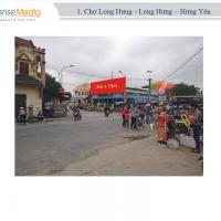 Biển quảng cáo tại Chợ Long Hưng, Hưng Yên