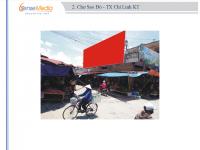 Biển quảng cáo tại Chợ Sao Đỏ, Chí Linh, Hải Dương