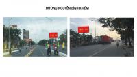 Billboard quảng cáo trên đường Nguyễn Bỉnh Khiêm, Hải Phòng