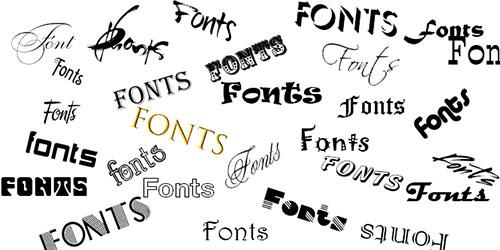 Font chữ làm biển quảng cáo