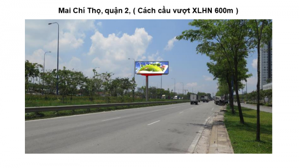 Billboard quảng cáo gần Cầu vượt Cát Lái, Quận 2, TPHCM