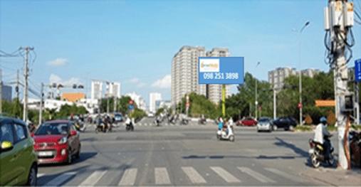 Billboard tại Giao lộ Nguyễn Thị Thập - Nguyễn Văn Linh, Quận 7, TPHCM