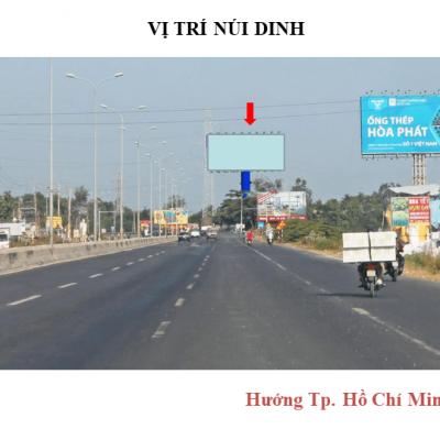 Billboard quảng cáo tại Núi Dinh, Vũng Tàu
