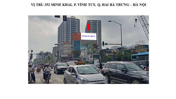 Pano tại 352 Minh Khai, Vĩnh Tuy, Hai Bà Trưng, Hà Nội