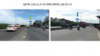 Billboard quảng cáo trên Quốc lộ 1A, P.An Phú Đông, Quận 12, TPHCM