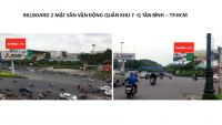 Billboard tại Sân vận động Quân khu 7, Quận Tân Bình, TPHCM