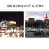 Pano quảng cáo tại Vòng xoay Lăng Cha Cả, Quận Tân Bình, TPHCM