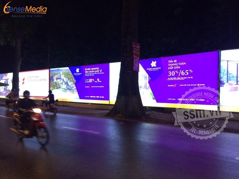 biển quảng cáo dự án