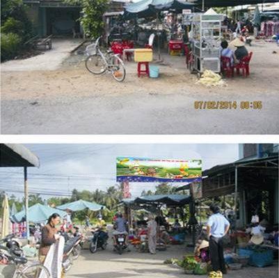 Biển chợ Cổng Dinh – Châu Thành, Đồng Tháp