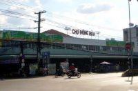 Biển quảng cáo Chợ Đông Hòa, Tây Ninh