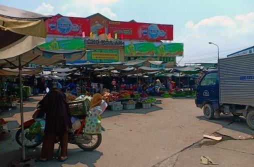 Biển quảng cáo Chợ Hóa An, Đồng Nai