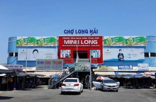 Biển quảng cáo Chợ Long Hải, Vũng Tàu