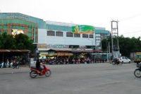 Biển quảng cáo Chợ Long Hoa, Tây Ninh