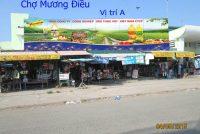 Biển quảng cáo chợMương Điền, Đồng Tháp