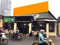 Biển quảng cáo chợ Nhân Chính, Thanh Xuân, Hà Nội