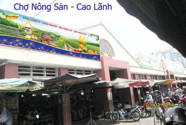 Biển quảng cáo Chợ Nông Sản – Cao Lãnh