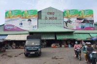 Biển quảng cáo tại Chợ Ô Môn, Cần Thơ