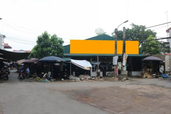 Biển quảng cáo chợ Phùng, Đan Phượng, Hà Nội