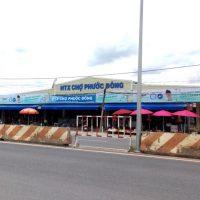 Biển quảng cáo Chợ Phước Đông, Gò Dầu, Tây Ninh