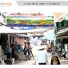 Biển quảng cáo tại Chợ Tân An Luông, Vĩnh Long