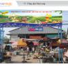Biển quảng cáo tại Chợ Tân Long, Vĩnh Long