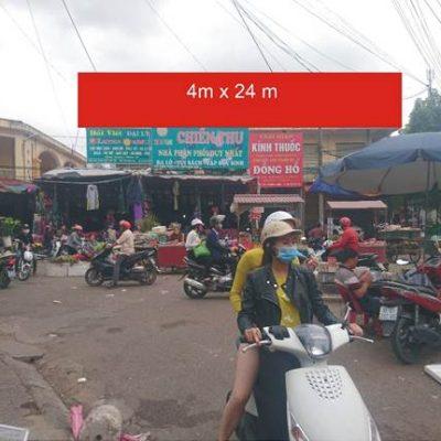Biển quảng cáo chợ Thương, Bắc Giang