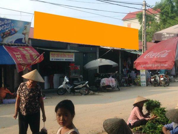 Biển quảng cáo chợ Tiên Tảo, Sóc Sơn, Hà Nội