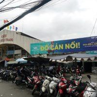 Biển quảng cáo tại Chợ Trần Hữu Trang, Quận Phú Nhuận, TPHCM