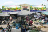 Biển chợ quảng cáo Vàm Cống Đồng Tháp