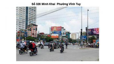 Pano tại số 328 Minh Khai, Vĩnh Tuy, Hai Bà Trưng, Hà Nội