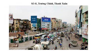 Pano quảng cáo tại Số 41, Trường Chinh, Thanh Xuân, Hà Nội
