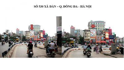 Pano quảng cáo ngoài trời 530 Xã Đàn, Hà Nội