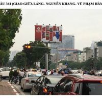 Billboard quảng cáo ở cầu 361, đường Láng, Hà Nội