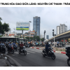 Billboard quảng cáo tại cầu vượt Trung Hòa, Hà Nội