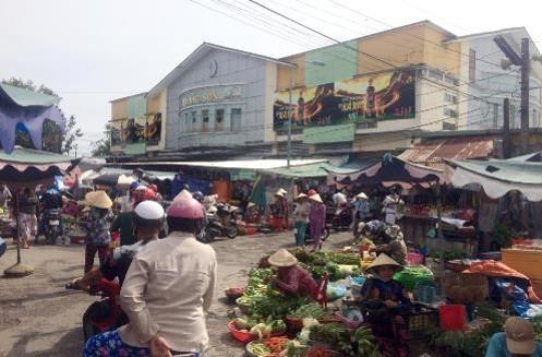 Biển quảng cáo Chợ Bắc Sơn, Kiên Giang