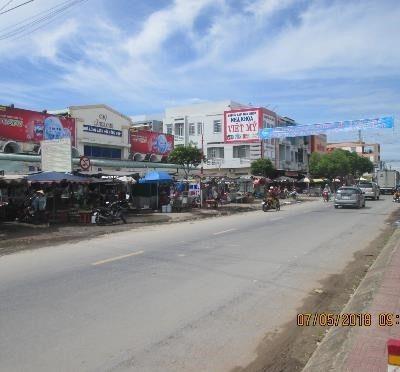 Biển quảng cáo Chợ Càng Long, Trà Vinh