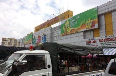 Biển quảng cáo Chợ Hà Tiên, Kiên Giang