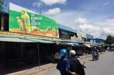 Biển quảng cáo Chợ Kế Sách, Sóc Trăng