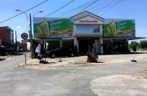 Biển quảng cáo Chợ Tân Phước, Long An
