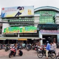 Biển quảng cáo tại Chợ Vĩnh Long, TP.Vĩnh Long