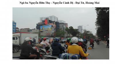 Pano ngã ba Nguyễn Cảnh Dị - Đại Từ, Hoàng Mai, Hà Nội