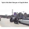 Pano quảng cáo tại Ngã ba Trần Khát Chân - Nguyễn Khoái, Hà Nội