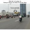 Pano ở ngã tư cầu vượt Nguyễn Chí Thanh – Trần Duy Hưng, Hà Nội