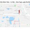 Pano ngã tư Trần Khát Chân – Lò Đúc – Kim Ngưu, Hai Bà Trưng, Hà Nội
