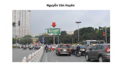 Billboard tại Nguyễn Văn Huyên – Nguyễn Khánh Toàn, Hà Nội